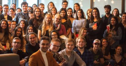 Onthaaldag internationale studenten