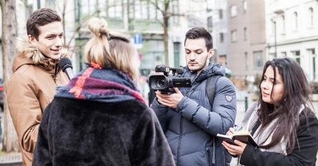 Journalistiek aan de Erasmushogeschool